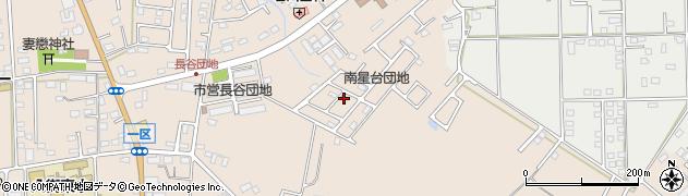 南星台団地周辺の地図