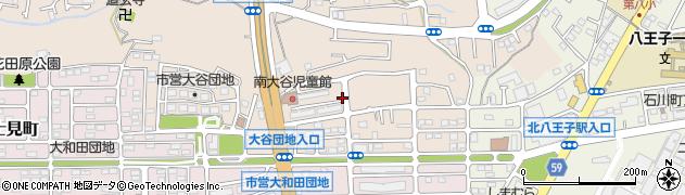 都営八王子南大谷アパート周辺の地図