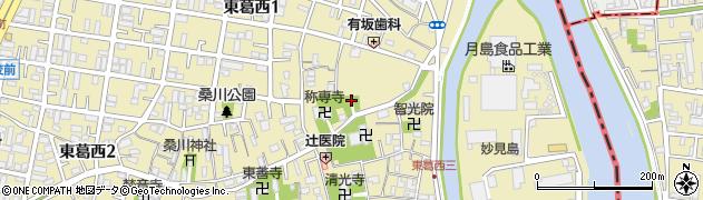 香取神社周辺の地図