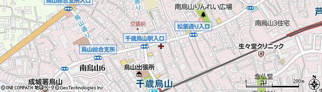 すみれ家周辺の地図