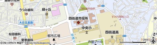 千葉県四街道市周辺の地図