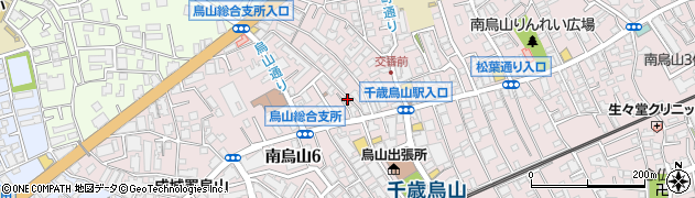 東京都世田谷区南烏山周辺の地図