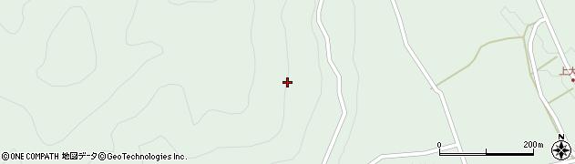 岐阜県中津川市付知町(寺の下)周辺の地図