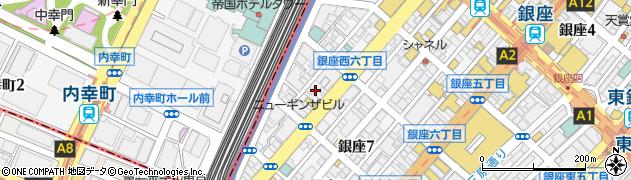 サンボア周辺の地図