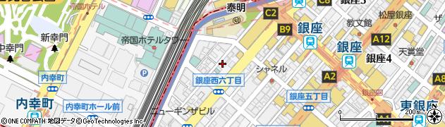 フラットテンス周辺の地図