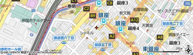 株式会社三笠会館 本店周辺の地図