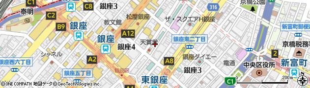 囃Shiya周辺の地図