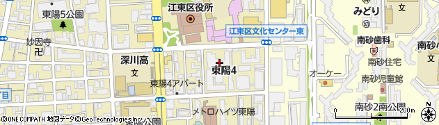 東陽町ハイホーム周辺の地図
