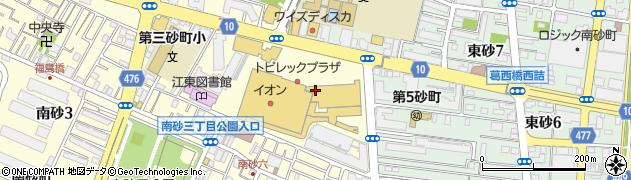 あみやき亭牧場南砂店周辺の地図