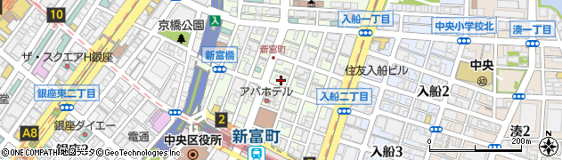 株式会社ホットランド東京 本社周辺の地図