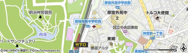 うさぎ周辺の地図