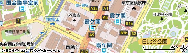 東京都千代田区周辺の地図