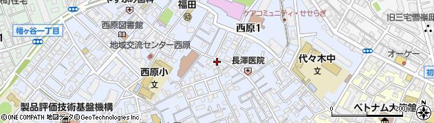 釜寅 渋谷店周辺の地図