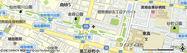 都営南砂町五丁目アパート周辺の地図