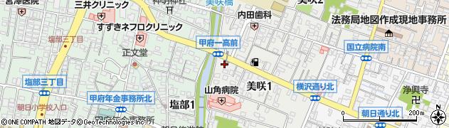 大神社周辺の地図