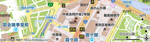 ライスタコス・カフェ 霞が関店周辺の地図