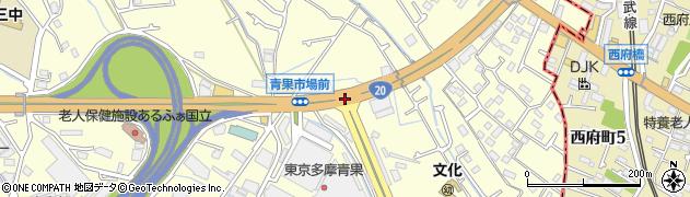 青果市場東周辺の地図