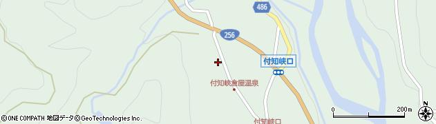 岐阜県中津川市付知町(上倉屋)周辺の地図