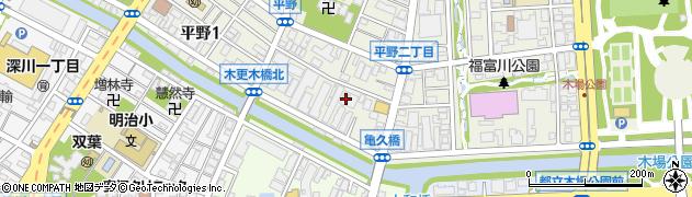 東京都江東区平野2丁目2-15周辺の地図