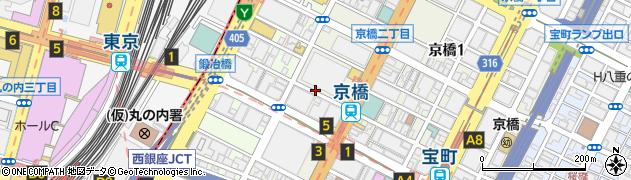 酒房長谷川京橋店周辺の地図