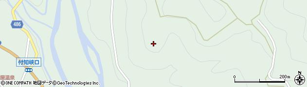 岐阜県中津川市付知町(向山)周辺の地図