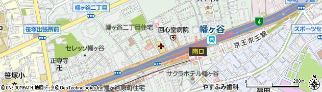 スカイラークガーデンズ 幡ヶ谷店周辺の地図