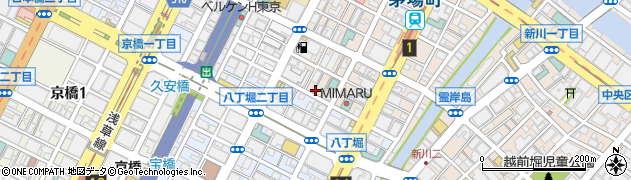 日本橋蓮周辺の地図