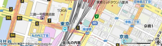 東京都千代田区丸の内1丁目11周辺の地図