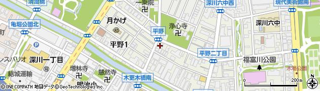 宣明院周辺の地図
