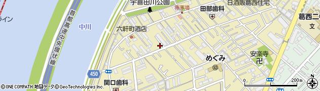 東京都江戸川区北葛西周辺の地図