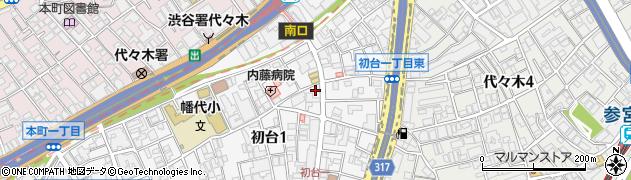 Neighborhood and Coffee 初台一丁目店周辺の地図