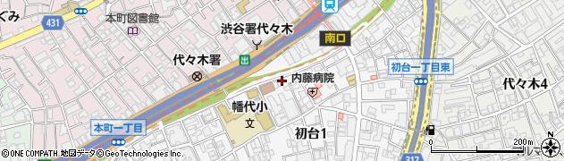 みみ周辺の地図