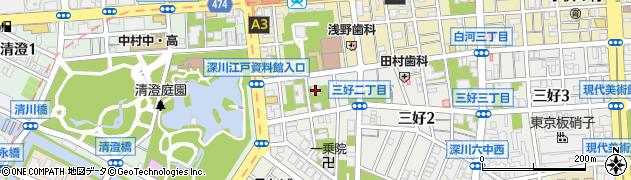 長専院周辺の地図