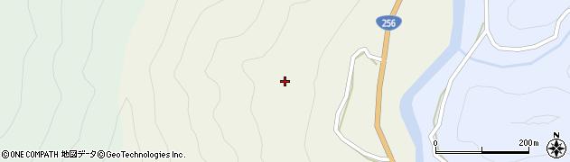 岐阜県関市老洞周辺の地図