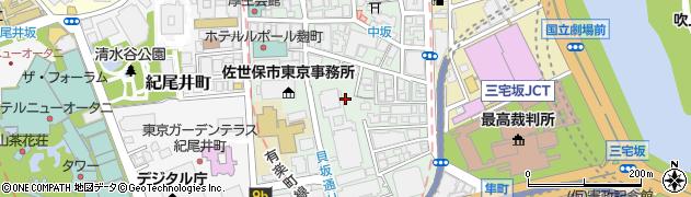 東京都千代田区平河町周辺の地図