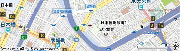 東京都中央区日本橋小網町周辺の地図