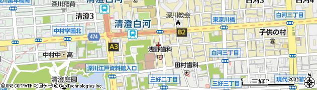 志げ寿司周辺の地図