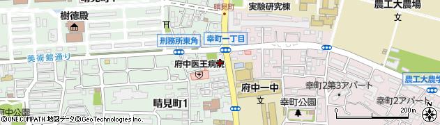 府中コーポラス周辺の地図