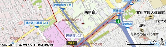東京都新宿区西新宿3丁目19-2周辺の地図