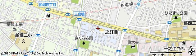 東京都江戸川区一之江町周辺の地図