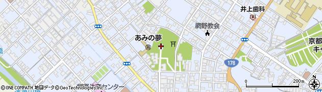 網野神社周辺の地図
