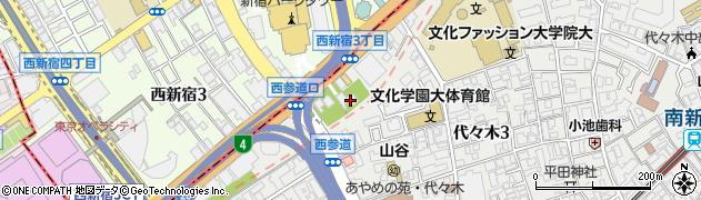 諦聴寺周辺の地図