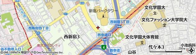 東京都新宿区西新宿3丁目7-26周辺の地図