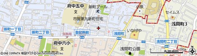 都営新町二丁目第2アパート周辺の地図