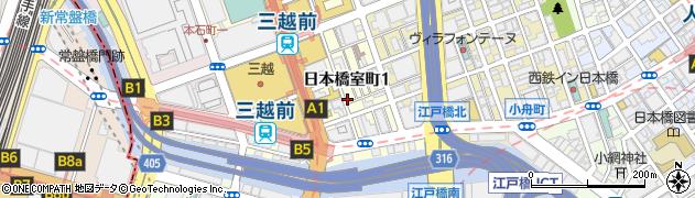 日本橋室町五島伊勢丸周辺の地図