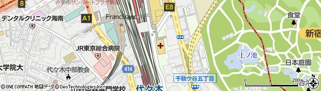 ヴィヴィアンタム新宿高島屋店周辺の地図