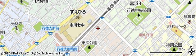 ライオンズマンション行徳ガーデンシティ周辺の地図