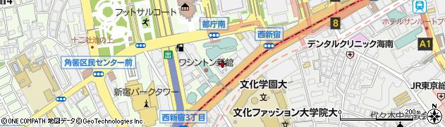 東京都新宿区西新宿3丁目2-11周辺の地図