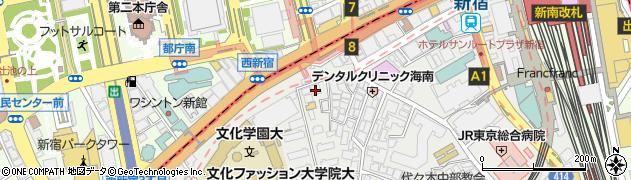 新都心クリニック周辺の地図