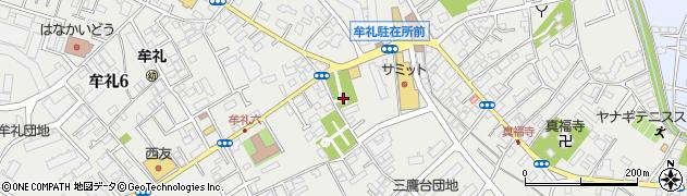 大盛寺別院周辺の地図